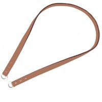 Shoulder strap 100, in Camel bulcalf leather