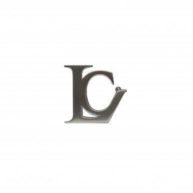 BELT BUCKLE LC - BRUSCHED PALLADIUM