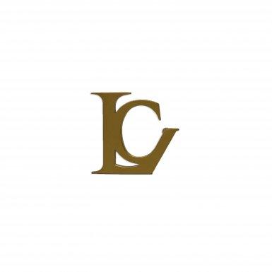 BELT BUCKLE LC - GOLD