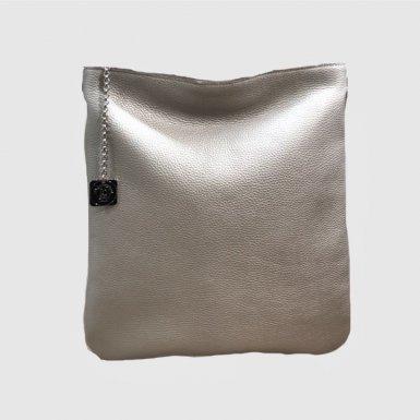 Large clutch bag: Iridescent bullcalf leather