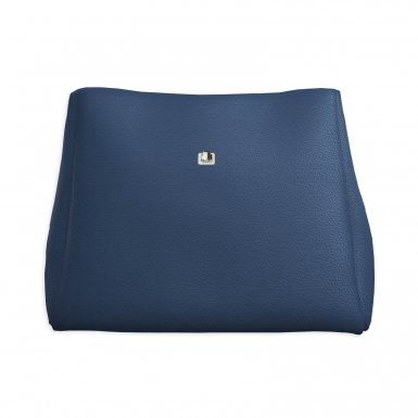 Large handbag body: Blue bullcalf leather