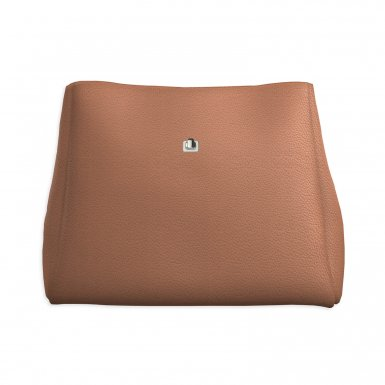 Large handbag body: Camel bullcalf leather