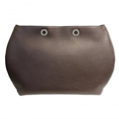 Large handbag body: Coffee bullcalf leather
