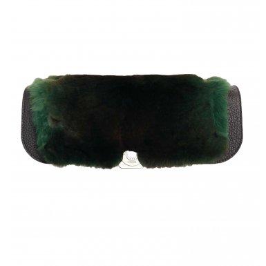 LEOPOLDINE FLAP - GREEN & BLACK & BLACK