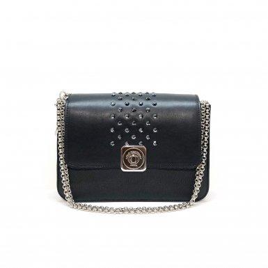 LITTLE BAG Black - GUS STRASS FLAP Black & Zebra - Chain STRAP