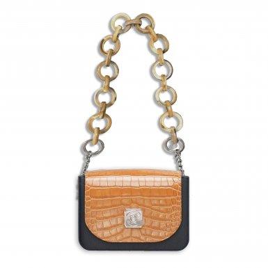 LITTLE BAG Black - GUS TIPSY FLAP Camel - SHOULDER-CARRY HANDLE Taupe Plastic