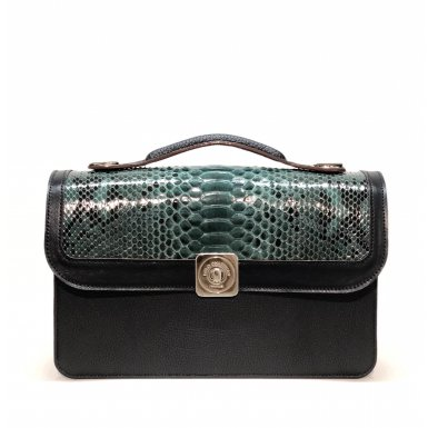 MIDDLE BASE black - DREAM FLAP green python - HANDLE black