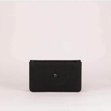 Middle handbag body: Black bullcalf leather