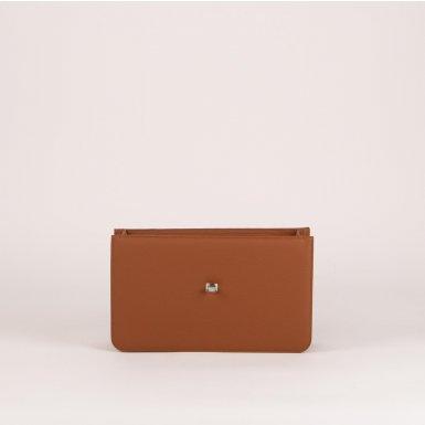 Middle handbag body: Camel bullcalf leather