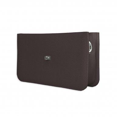 Middle handbag body: Coffee bullcalf leather