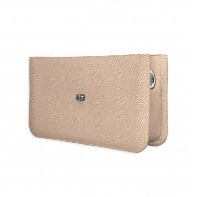 Middle handbag body: Iridescent bullcalf leather