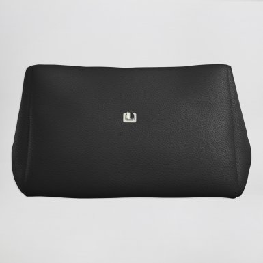 Small handbag body: Black bullcalf leather
