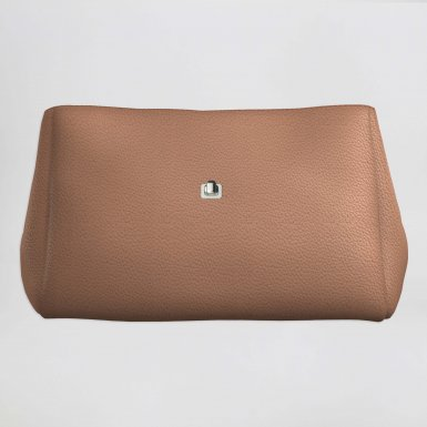 Small handbag body: Camel bullcalf leather