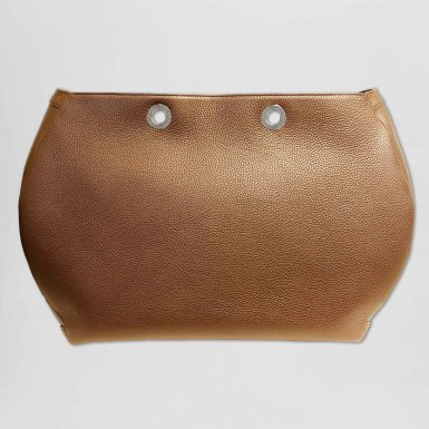 Tote Bag handbag body: Camel bullcalf leather